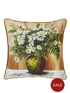 daisy-vase-gold-lip-cord-cushion