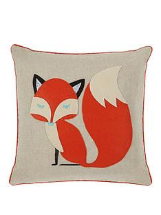 mr-fox-applique-cushion