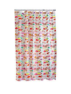 aqualona-parasols-shower-curtain