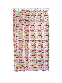 aqualona-parasols-shower-curtain