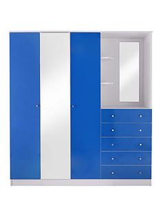 kidspace-cosmo-3-door-5-drawer-combi-fitment-wardrobe