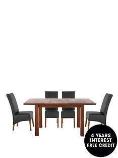 primo-extending-dining-table-4-eternity-chairs-buy-and-save