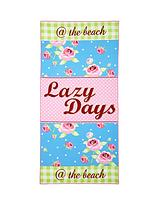Lazy Days Beach Towel