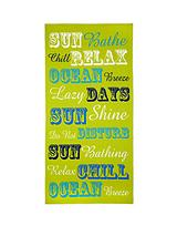 Sun Bathe Beach Towel