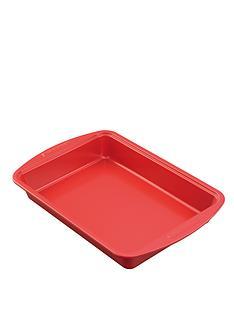 silverstone-9-x-13-inch-cake-tin-red