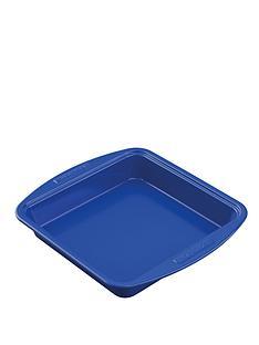 silverstone-9-inch-square-cake-tin-blue
