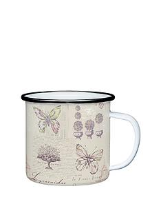 coolmovers-butterfly-enamel-mug-stainless-steel-rim-8-cm-pack-of-4