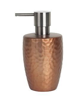 spirella-darwin-hammered-soap-dispenser-copper