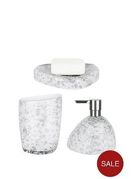 spirella-etna-set-of-3-glitter-white-bathroom-accessories