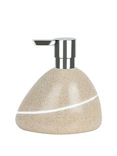 spirella-etna-soap-dispenser-sand