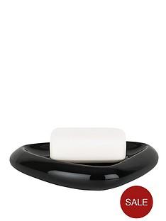spirella-etna-shiny-black-soap-dish