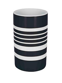 spirella-tubes-stripes-tumbler-black