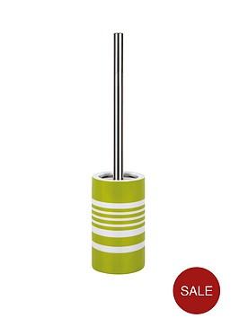 spirella-tubes-stripes-toilet-brush-kiwi