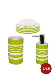 spirella-tubes-stripes-set-of-3-bathroom-accessories-kiwi