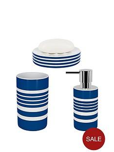 spirella-tubes-stripes-set-of-3-bathroom-accessories-blue
