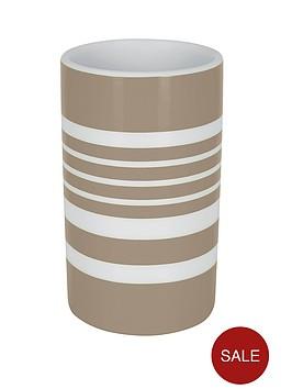 spirella-tubes-stripes-tumbler-taupe