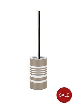 spirella-tubes-stripes-toilet-brush-taupe