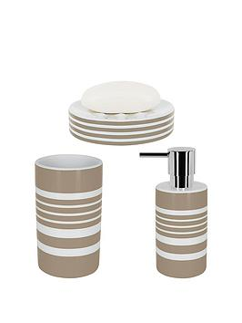 spirella-tubes-stripes-set-of-3-bathroom-accessories-taupe
