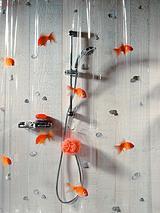 Goldfish Shower Curtain - 180 x 200 cm