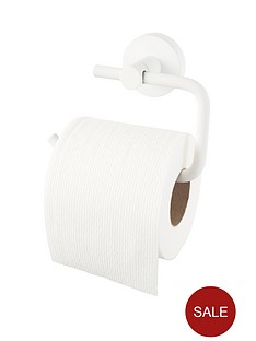 aqualux-haceka-kosmos-toilet-roll-holder-white