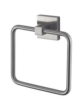 aqualux-haceka-mezzo-tec-towel-ring-chrome