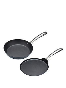 master-class-2-piece-induction-ready-frying-pan-and-crepe-pan