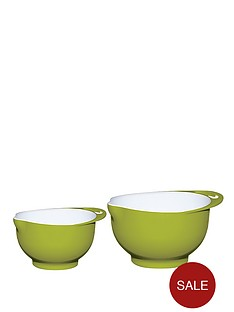 colourworks-two-tone-melamine-mixing-bowl-set-green