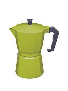 kitchen-craft-6-cup-espresso-maker-green