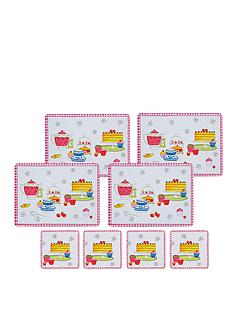 kitchen-craft-8-piece-cork-back-laminated-placemats-and-coaster-set-time-for-tea