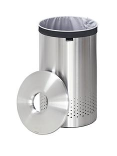 brabantia-laundry-bin-35-litre-with-stainless-steel-lid
