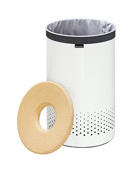 Brabantia Laundry Bin 35Litre with Cork Lid and Removable Laundry Bag