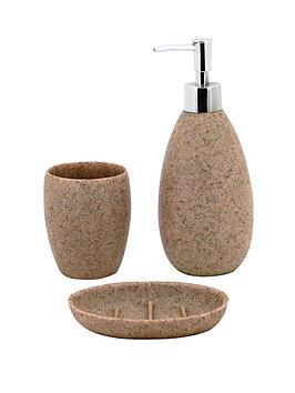 sabichi-3-piece-stone-effect-accessory-set