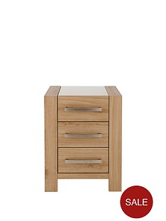 morgan-3-drawer-glass-top-bedside-chest