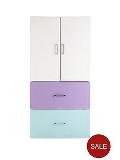 kidspace-geo-2-door-2-drawer-storage-cupboard