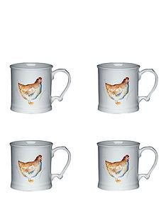 kitchen-craft-hen-house-set-of-4-ceramic-mugs