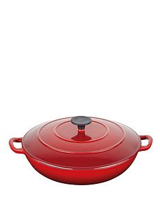 master-class-cast-iron-red-35-litre-braiser-buffet-pan