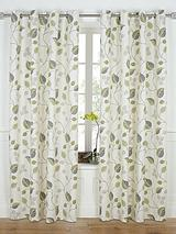 April Printed Eyelet Curtains