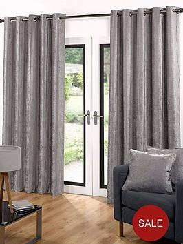 luxury-soft-velour-eyelet-curtains