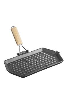 viners-cast-iron-33-cm-griddle-black