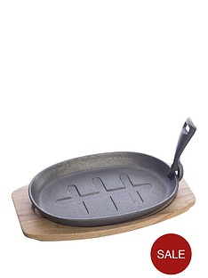 viners-cast-iron-27-cm-griddle-black