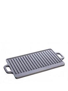 viners-cast-iron-40-cm-flat-grill-black