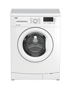 beko-wmb61432w-6kg-load-1400-spin-slim-washing-machine-white
