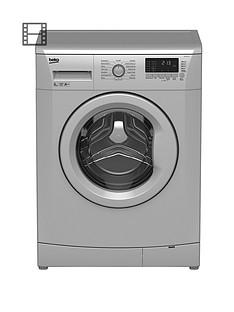 beko-wmb61432s-6kg-load-1400-spin-slim-washing-machine-silver