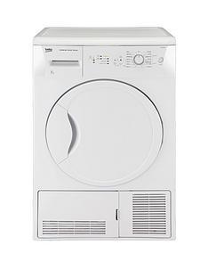 beko-dcu8230w-8kg-condenser-dryer-white