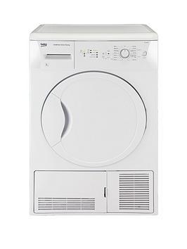 beko-dcu8230w-8kg-condenser-sensor-tumble-dryer-white