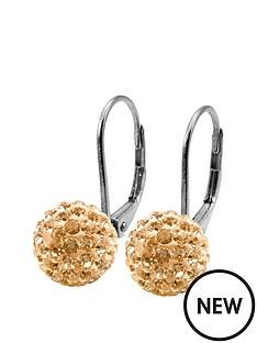 tresor-paris-8mm-round-shape-gold-crystal-titanium-earrings
