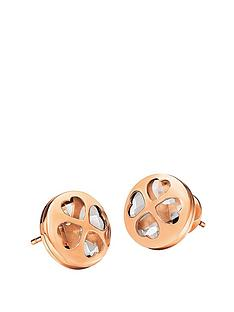 folli-follie-heart-4-heart-collection-rose-gold-plated-clear-crystal-stone-set-stud-earrings