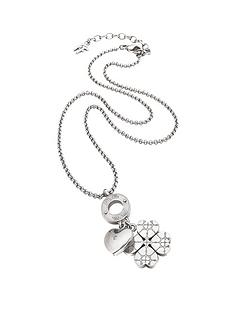 folli-follie-sweetheart-collection-silver-plated-charm-drop-necklace