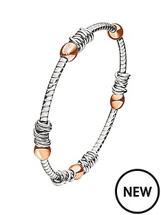 folli-follie-aegean-breeze-rose-gold-and-silver-plated-bangle