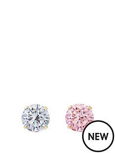 andralok-9-carat-yellow-gold-set-of-two-3mm-nose-studs